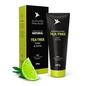 Creme-Dental-Pura-Vida-Natural-Tea-Tree-Limao-e-Menta-120g