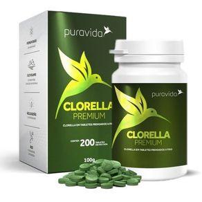 Clorella-PuraVida-Premium-100g