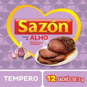 Tempero-Sazon-para-Carnes-com-Toque-de-Alho-Pacote-60g