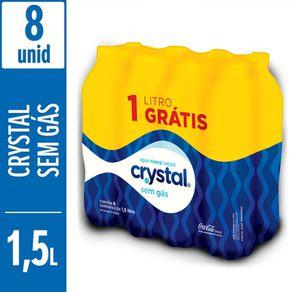 Agua-Mineral-Crystal-Sem-Gas-15L-Pack-com-8-Unidades-Gratis-1L