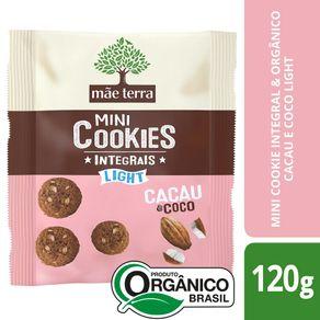 Cookies-Organicos-Mae-Terra-Light-Cacau-e-Coco-Pacote-120-g