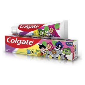 Creme-Dental-Colgate-Teen-Titans-Go-Sabor-Morango-60g