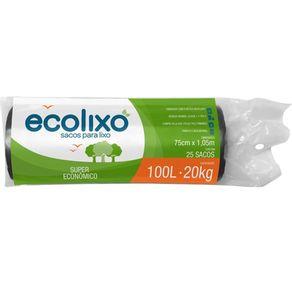 SACO-LIXO-ECOLIXO-100L-RL-25UN