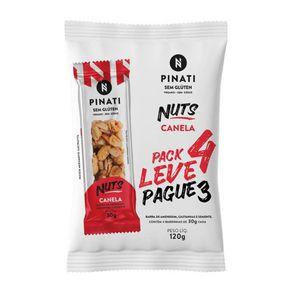 Barra-de-Nuts-Pinati-Canela-Vegana-Sem-Gluten-120g-com-4-Unidades