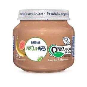 Papinha-Organica-Nestle-NATURNES-Goiaba-e-Banana-120g