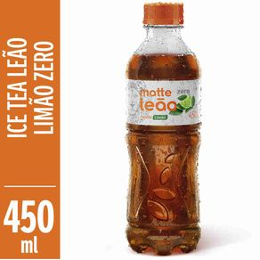Cha-Pronto-Leao-Ice-Tea-Limao-Zero-450ml