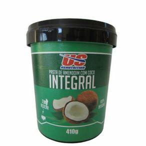 Pasta-de-Amendoim-Integral-Us-Nutrition-com-Coco-410g