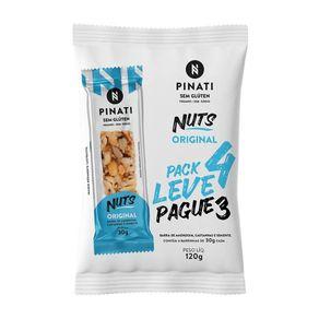 Barra-de-Nuts-Pinati-Original-Vegana-Sem-Gluten-120g-com-4-Unidades