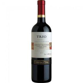 Vinho-Chil-Concha-Toro-Trio-750ml-Caber-Sauv