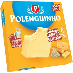 Queijo-Pasteurizado-Polenguinho--Polenghi-Quatro-Queijo-68g-4-Unidades