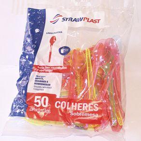 COLHER-STRAWPLAST-50UN