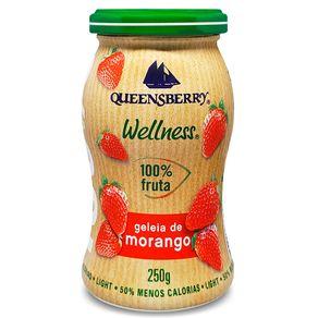Geleia-Queensberry-Zero-Morango-100--Fruta-Vidro-250-g