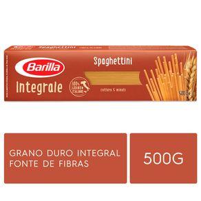 Massa-Italiana-Barilla-Integral-Spaguettini-Nº3-Caixa-500-g