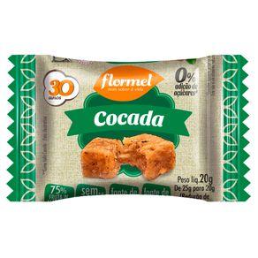 Doce-Cocada-Flormel-Zero-Acucar-20g