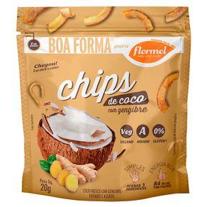Coco-Chips-Flormel-com-Gengibre-Fatiado-e-Assado-Pacote-20-g
