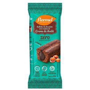 Bolinho-Integral-Flormel-Chocolate-Recheado-com-Creme-de-Avela-Zero-Acucar-15g