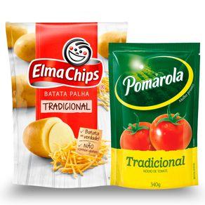 Kit-Batata-Palha-Elma-Chips-Tradicional-110g---Molho-de-Tomate-Pomarola-Tradicional-340g