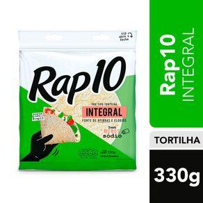 Pão Tortilha Rap10 Integral 330g