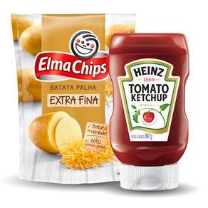 Kit-Batata-Palha-Elma-Chips-Extra-Fina-100g---Ketchup-Heinz-397g