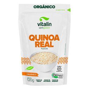 Quinoa-Organica-Vitalin-em-Flocos-Pacote-120g