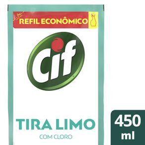 Desinfetante Uso Geral CIF Tira-Limo Refil 450ml