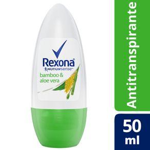 Desodorante Antitranspirante Roll On Rexona Women Bamboo 50ML