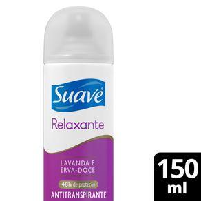 Desodorante Aerossol Suave Lavanda e Erva Doce Antitranspirante 150ml