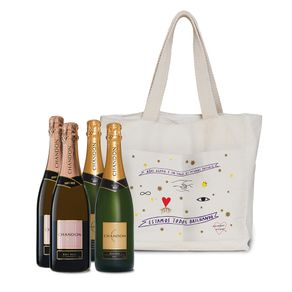 Kit-Espumante-Chandon-Brut-750ml-2-Unidades---Espumante-Chandon-Rose-750ml-2-Unidades---Bag