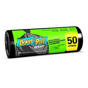 Saco-para-Lixo-Dover-Roll-Super-Forte-Preto-50L-com-30-Unidades
