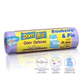 Saco-de-Lixo-Dover-Roll-Odor-Defense-Banheiro---Pia-com-50-sacos