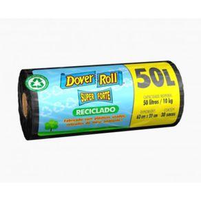 Saco-Para-Lixo-Dover-Roll-Reciclavel-50-Litros-Super-Forte-com-30-Unidades