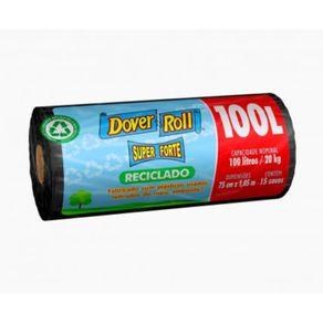Saco-Para-Lixo-Dover-Roll-Reciclavel-100-Litros-Super-Forte-com-15-unidades