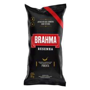 Salgadinho-Pimenta-Brahma-Resenha-Pacote-50g