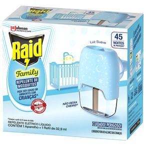 Repelente-Raid-Family-45-Noites-Liquido-Refil-329ml---Aparelho