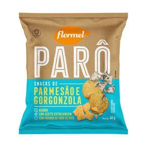 Snack-Parmesao-e-Gorgonzola-Flormel-Paro-Pacote-40g
