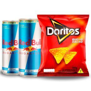 Combo-2-Unidades-Energetico-Red-Bull-Sugar-Free-250ml---Salgadinho-Doritos-Queijo-Nacho-167g