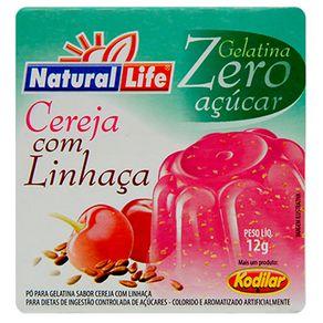 Gelatina-em-Po-Zero-Cereja-com-Linhaca-Natural-Life-12g-