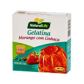 Gelatina-Zero-Acucar-Morango-com-Linhaca-Kodilar-12g