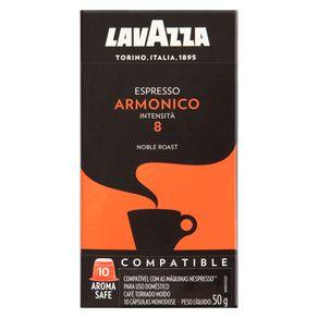 Cafe-em-Capsula-Italiano-Lavazza-Espresso-Armonico-Torrado-e-Moido-Caixa-50g-10-Unidades