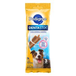 Petisco-para-Caes-Adultos-Racas-Medias-Pedigree-Dentastix-Pacote-77g-3-Unidades
