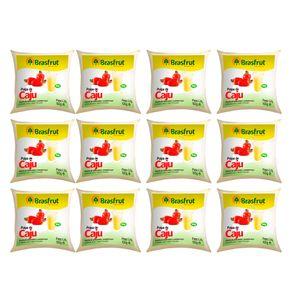 Pack-Polpa-de-Fruta-Brasfrut-Caju-100g-12-Unidades