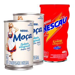 Combo-Achocolatados-em-Po-Nestle-NESCAU-2.0-400g---2-Unidades-Leite-Condensado-MOCA-Lata-395g