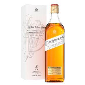 Whisky-Escoces-Blended-Celebratory-Johnnie-Walker-John-Walker---Sons-Garrafa-750ml