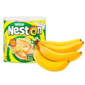 Combo-Cereal-Infantil-Neston-3-Cereais-400g---Banana-Prata-Bandeja-800g