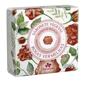 Sabonete-em-Barra-Vegetal-Rosas-Vermelhas-Davene-200g