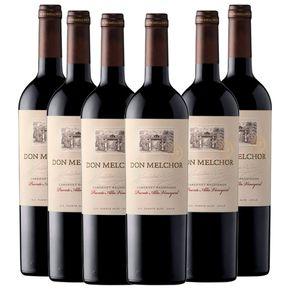 Kit-Vinho-Chileno-Tinto-Don-Melchor-Cabernet-Sauvignon-750ml-com-6-Unidades