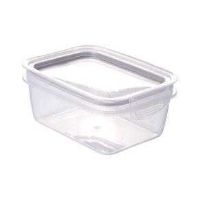Pote-Plastico-com-Tampa-Fendi-Retangular-910ml-Plasutil-Trava-Mais