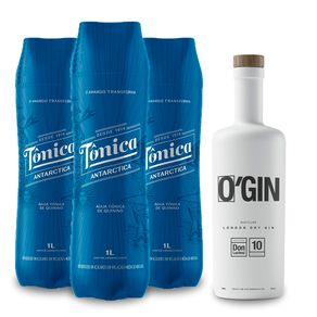 Kit-Gin-O-Gin-London-Dry-700ml---Agua-Tonica-Antarctica-Original-1L-3-Unidades