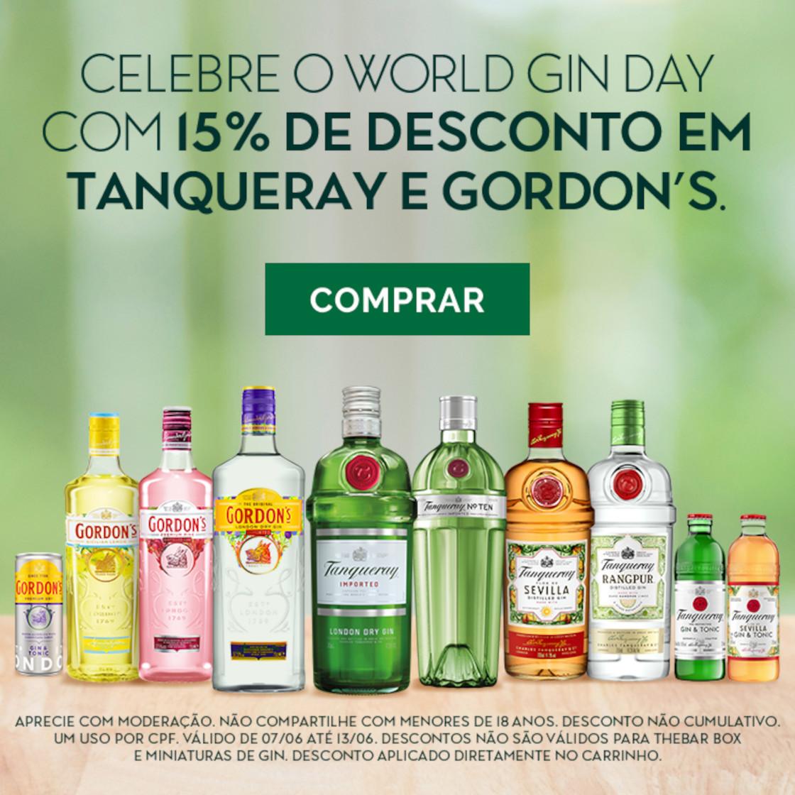 Diageo - Dia do Gin - 11/06 a 20/06