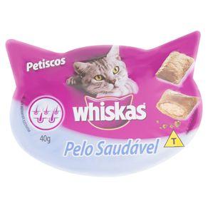 Petisco-para-Gatos-Adultos-Whiskas-Pelo-Saudavel-Pote-40g